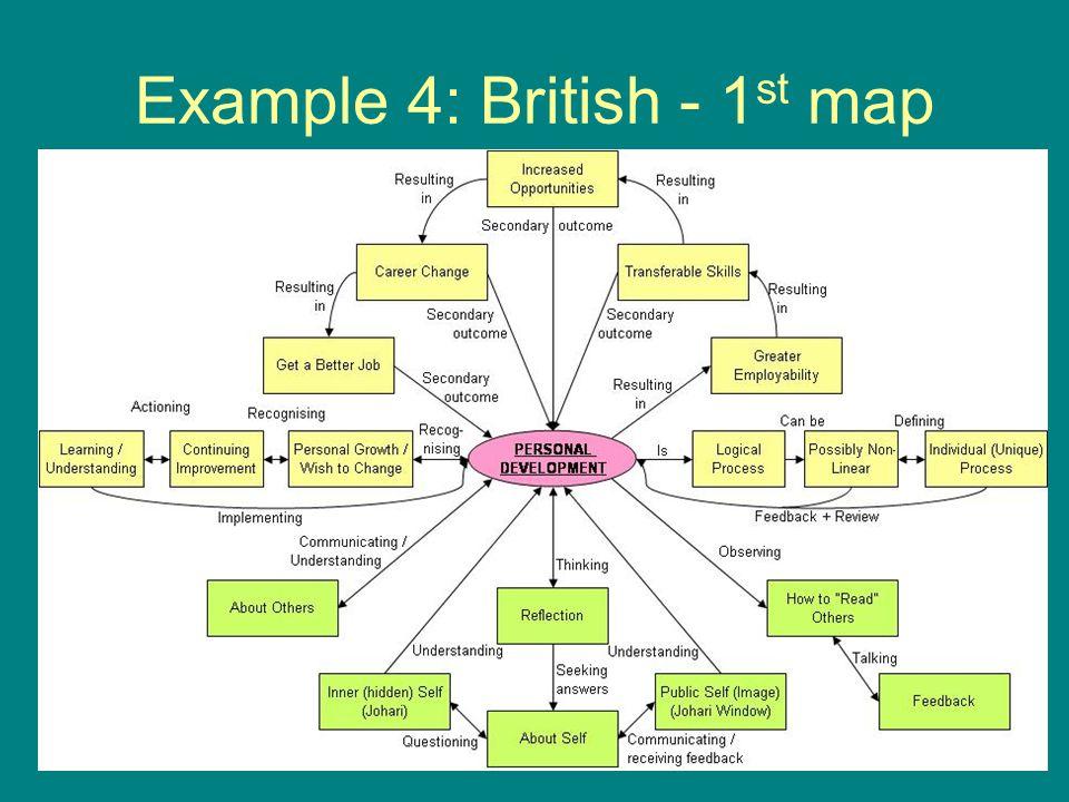 Example 4: British - 1 st map