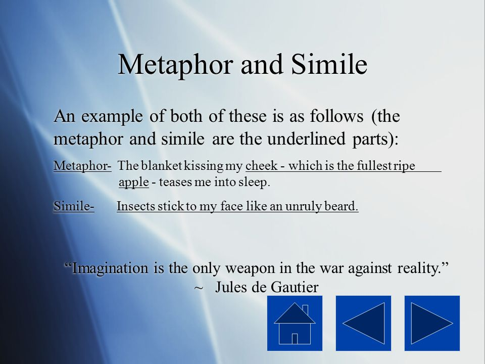 Metaphor and Simile Two closely related conventions that are widely utilized by poets are metaphor and simile. These two terms are very similar yet sl
