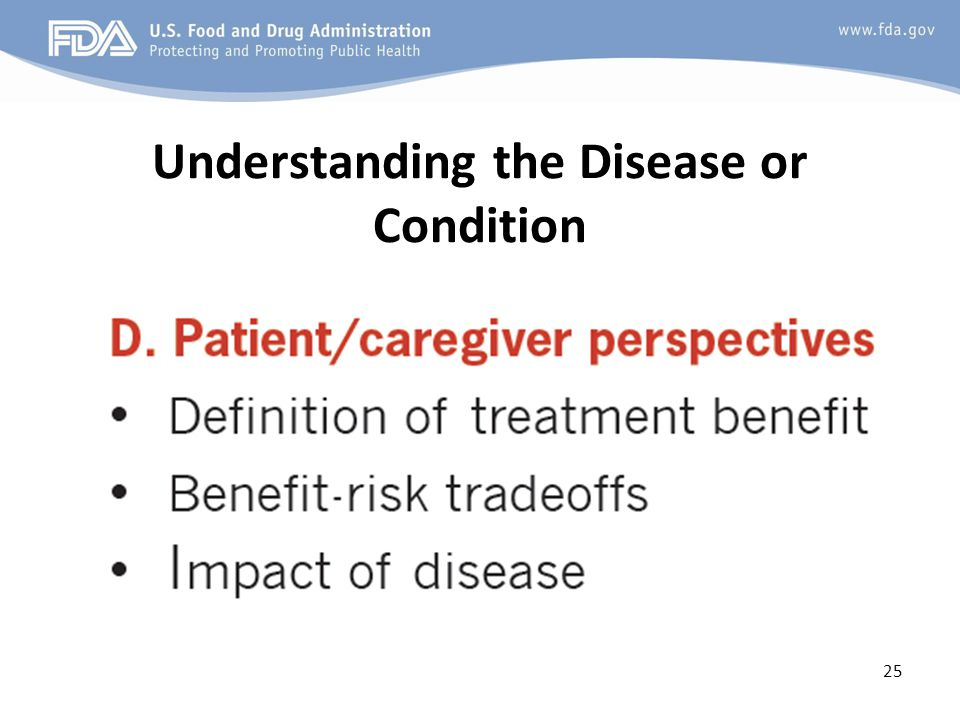 Understanding the Disease or Condition 25