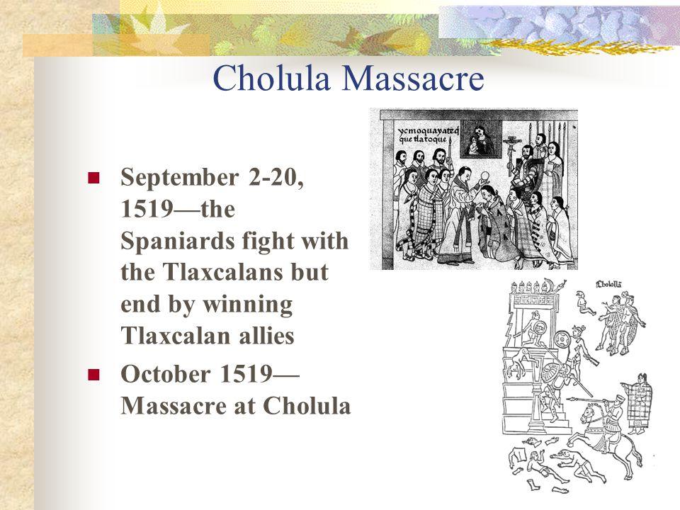 Cortez and Moctezuma November 8, 1519 – Cortes enters Tenochtitlan Does Moctezuma believe he's Quetzacoatl.