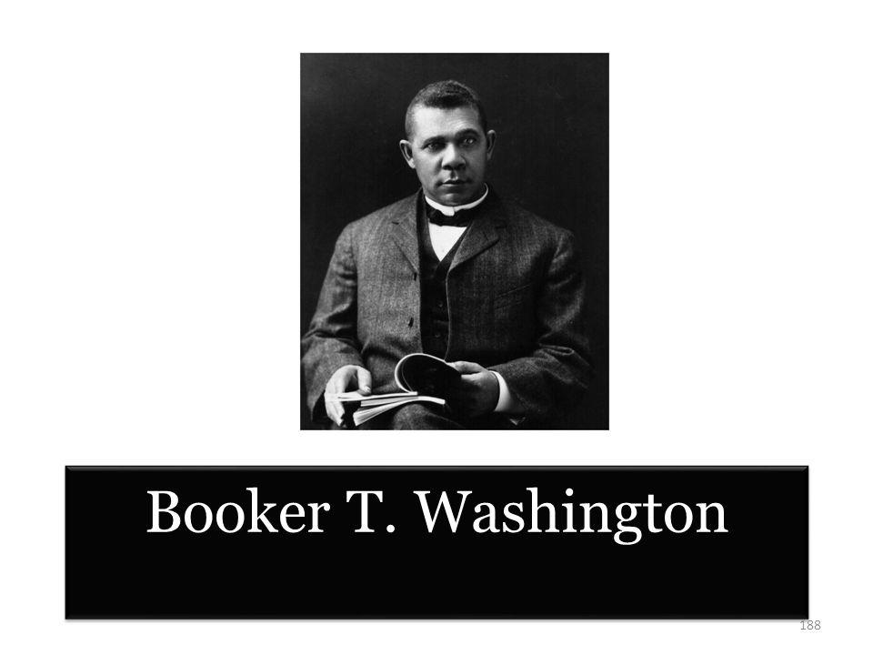Booker T. Washington 188