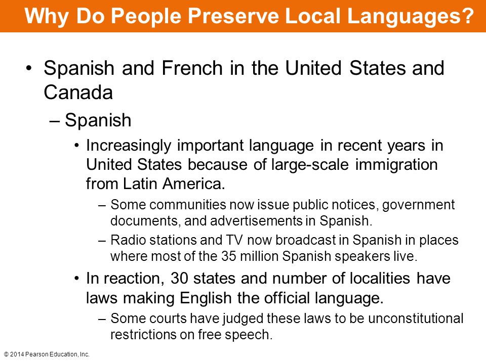 Why Do People Preserve Local Languages.