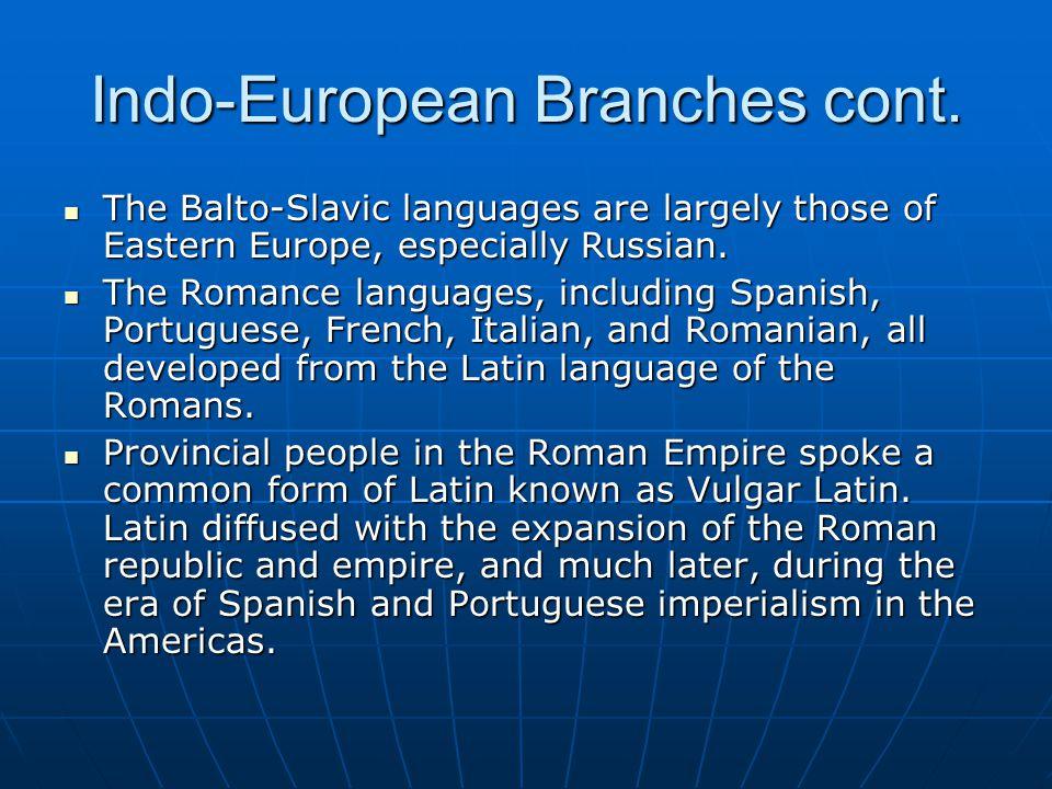 Origin and Diffusion of Indo- European There are two theories about the origin and diffusion of Indo-European.