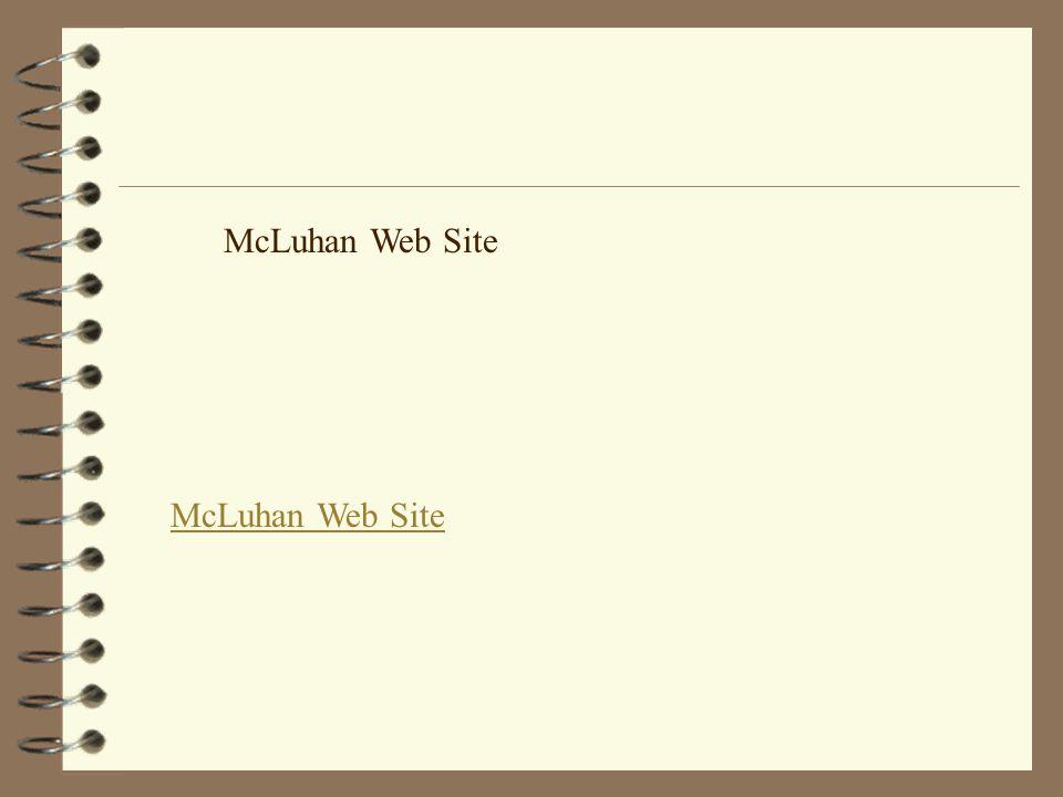 McLuhan Web Site