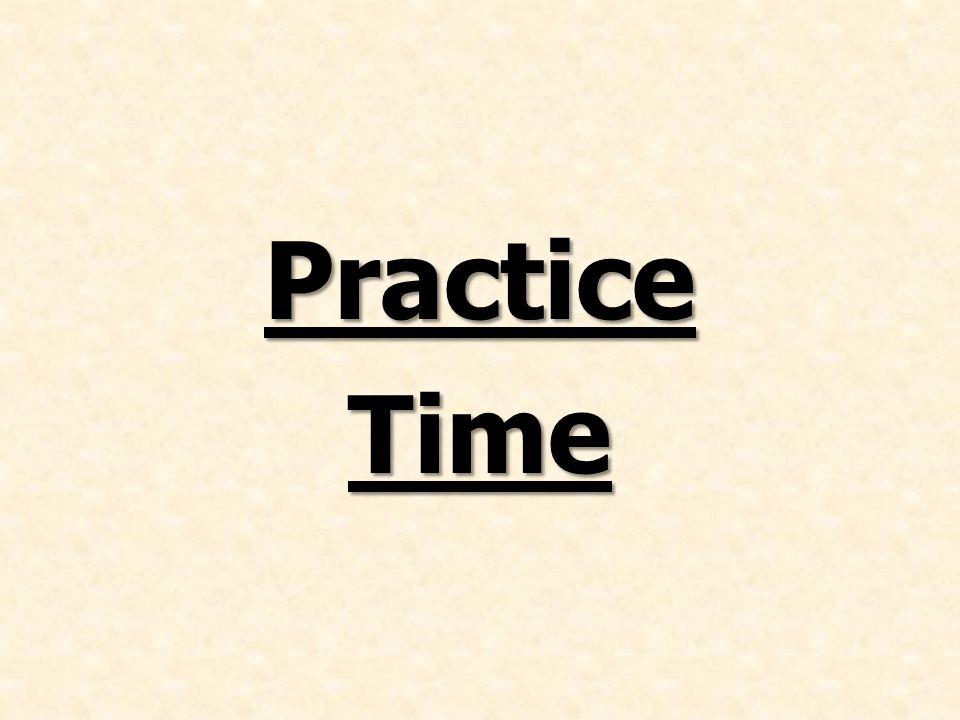 PracticeTime
