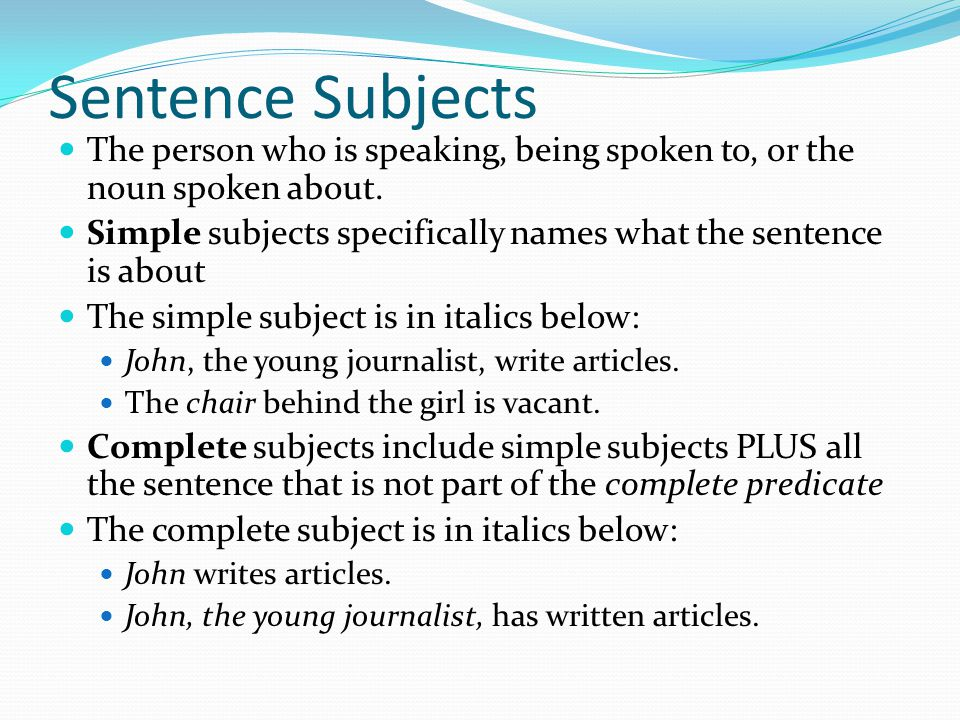 Phrases Most sentences have a main verb and helping verbs.