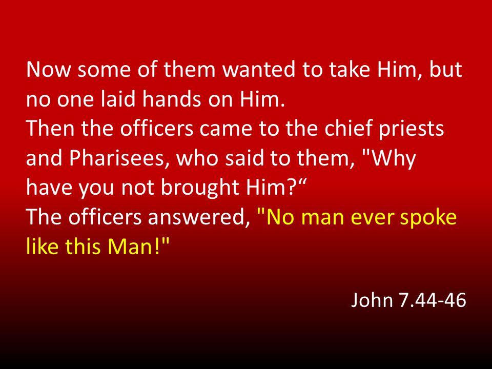 Never Man spoke Like This Man! Authority