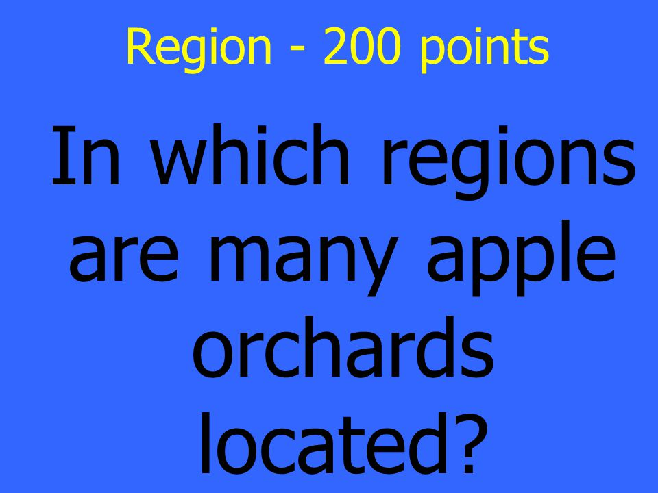 Valley and Ridge and Blue Ridge Mountains Region Answer - 200 points