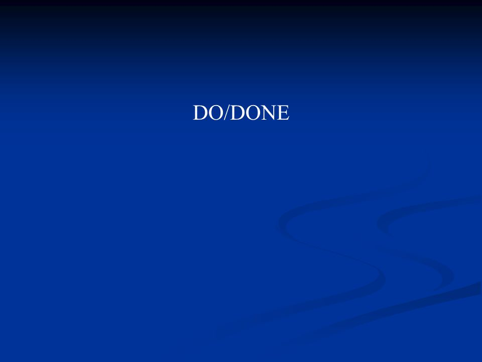 DO/DONE