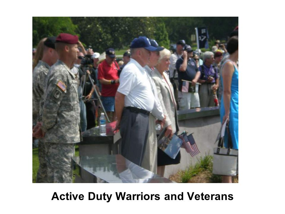 Active Duty Warriors and Veterans