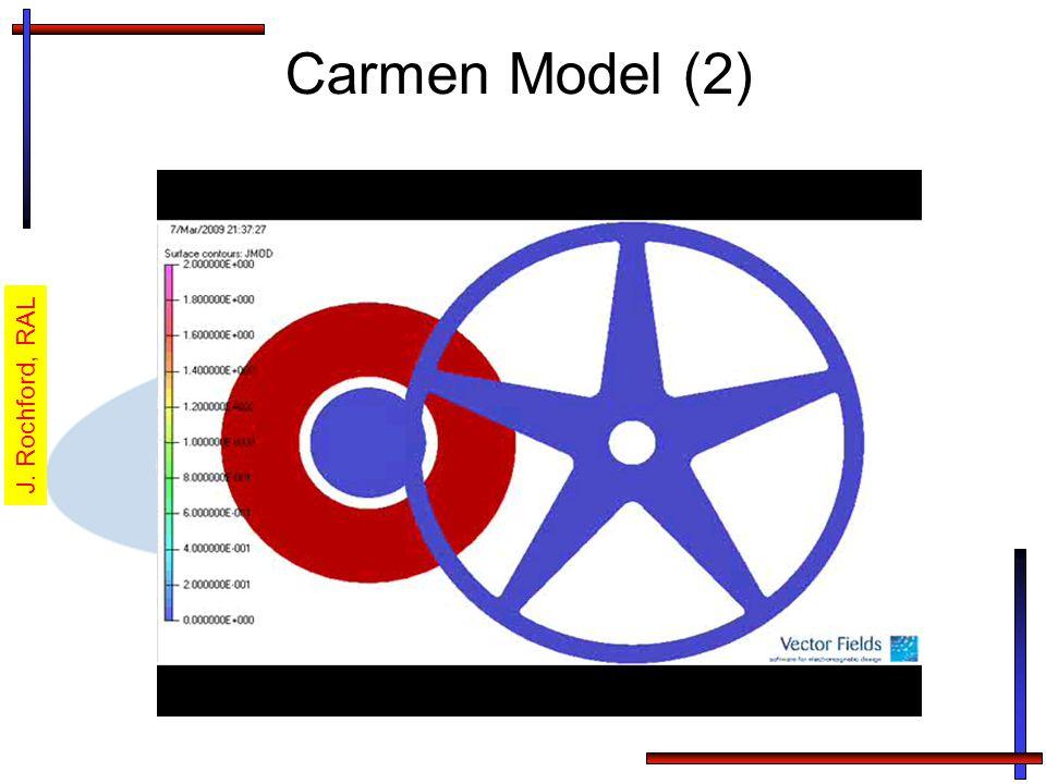 Carmen Model (2) J. Rochford, RAL