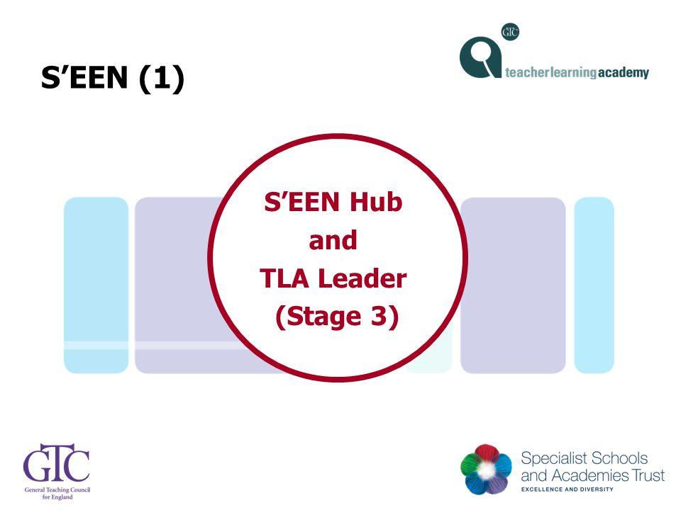 S'EEN (1) S'EEN Hub and TLA Leader (Stage 3)