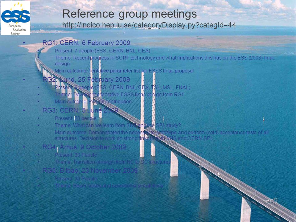 Writing Group Project plan for the linac design update and prototyping Design Report for the end of 2012 Prototyping will run longer Responsibilities within WG S.Peggs – Beam physics C.Oyon – project planning M.
