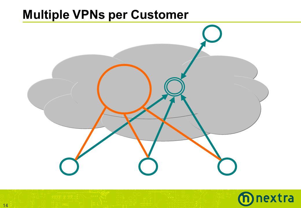 14 Multiple VPNs per Customer