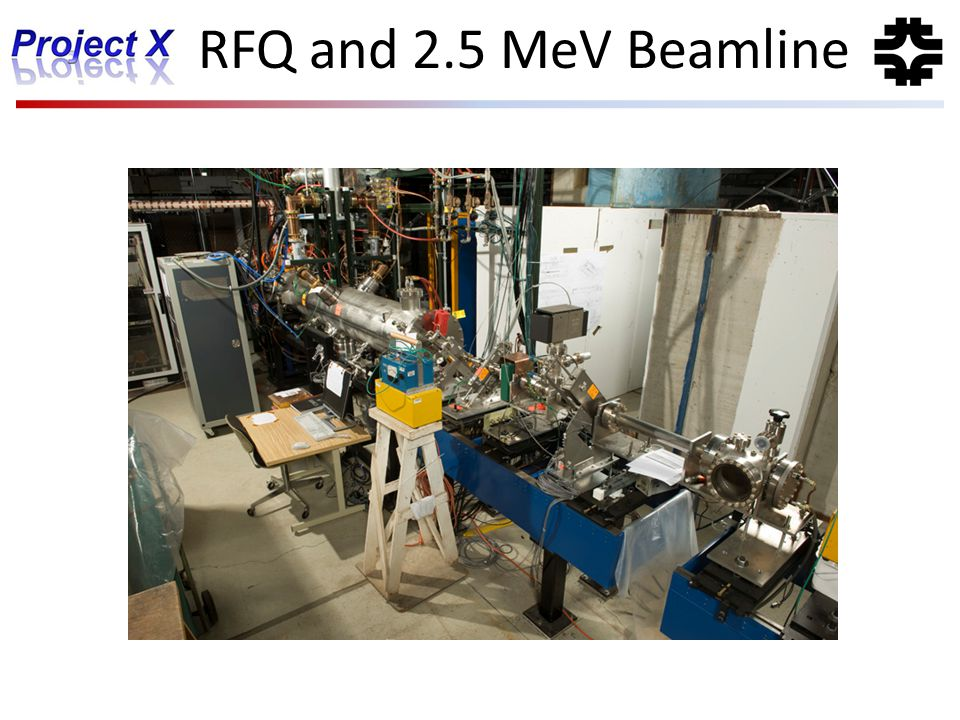 RFQ and 2.5 MeV Beamline