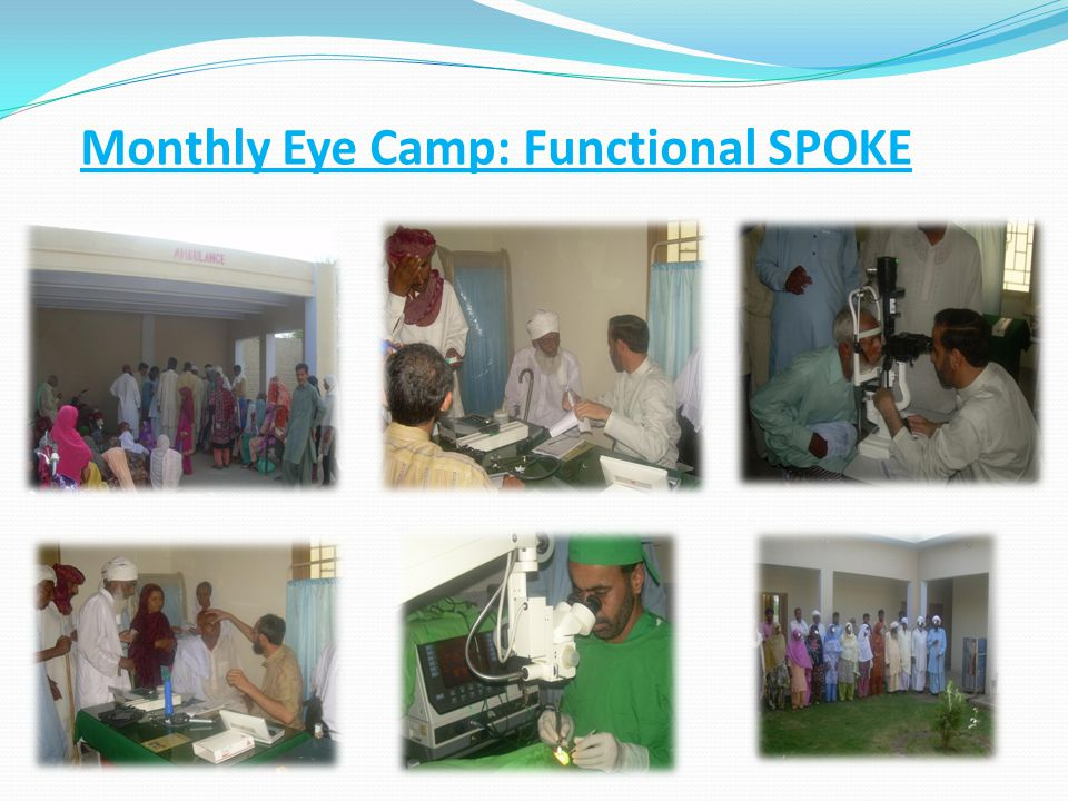 Monthly Eye Camp: Functional SPOKE