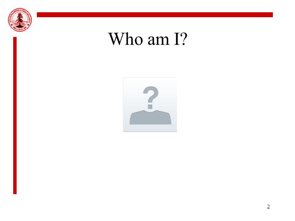 2 Who am I