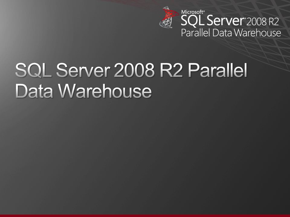 PDW Appliance Hardware Architecture – Dell / EMC Database Servers Dual Infiniband Control Nodes Active / Passive Landing Zone Backup Node Storage Nodes Spare Database Server Dual Fiber Channel Management Servers Client Drivers ETL Load Interface Corporate Backup Solution Data Center Monitoring Corporate Network Private Network