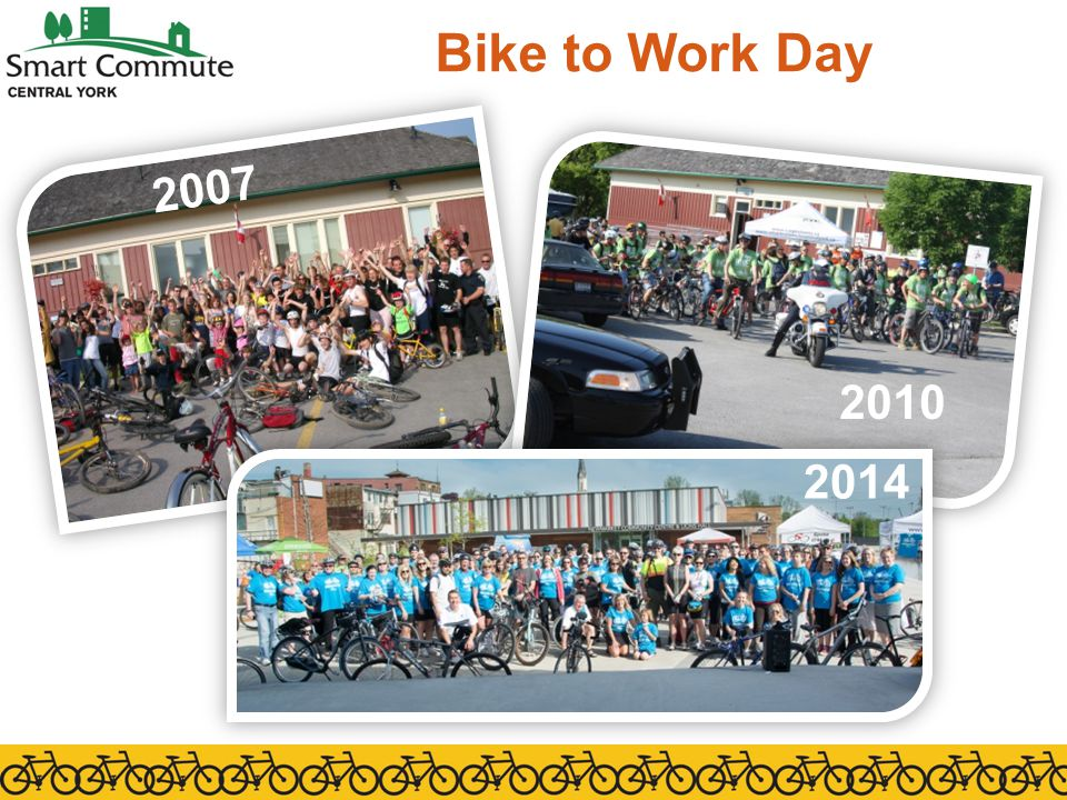 Bike to Work Day 2007 2013 2010 2014