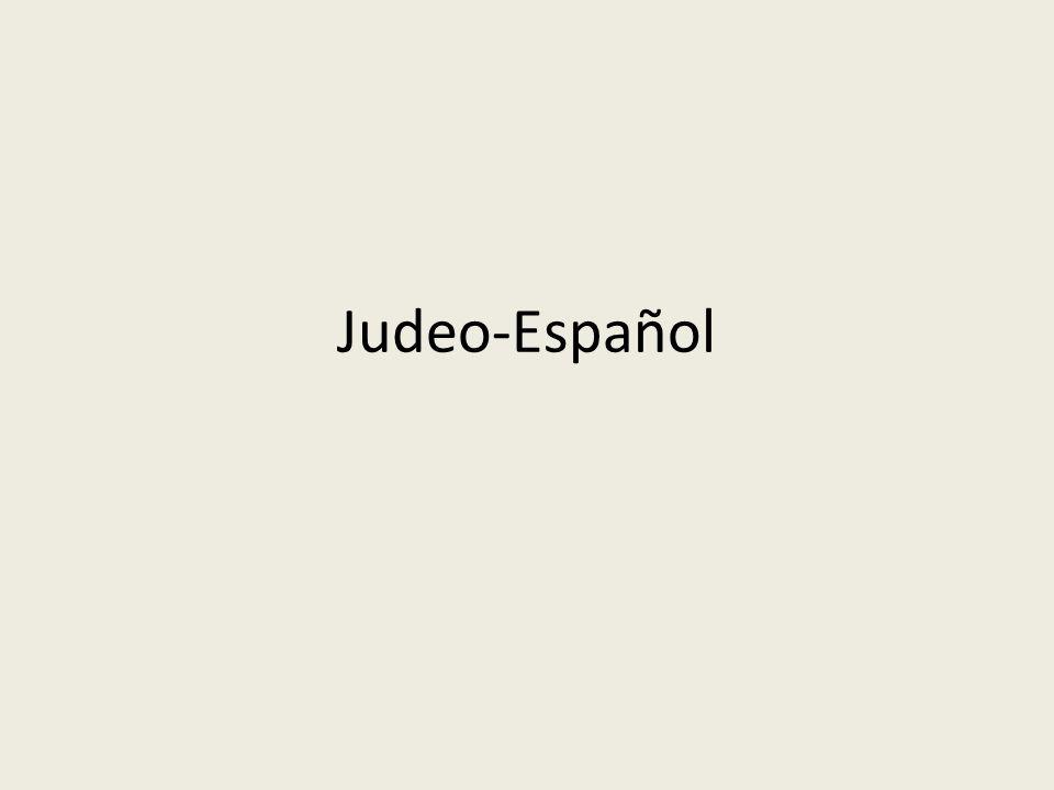 Judeo-Español
