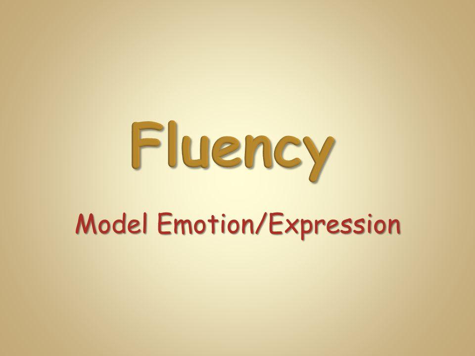 Model Emotion/Expression