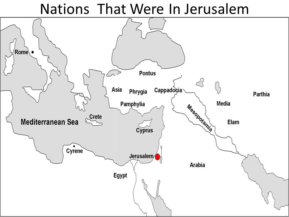 Nations That Were In Jerusalem