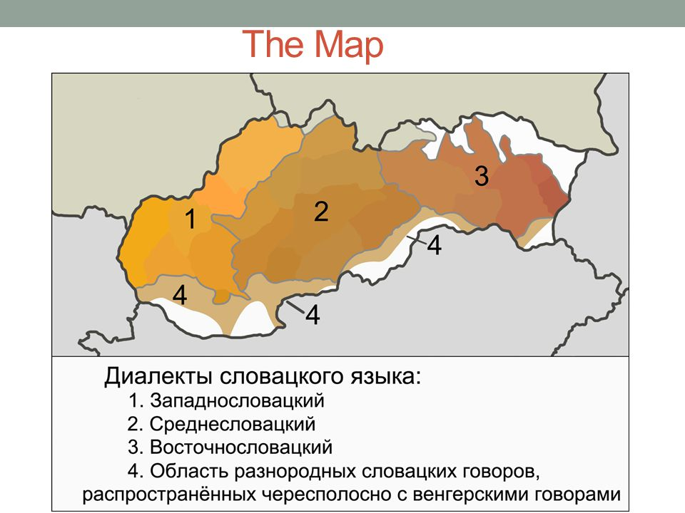 Western Slovak Dialects