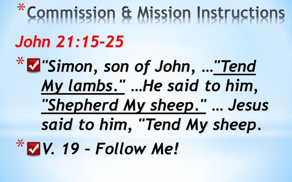 * I might ask the question; who is the primary instruction to: Believers or Non-Believers.