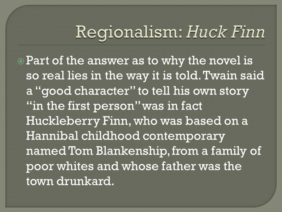  Twain does this by talking over Huck's head to the reader: We understand things that Huck does not, which lets us know how Twain wants us to feel.