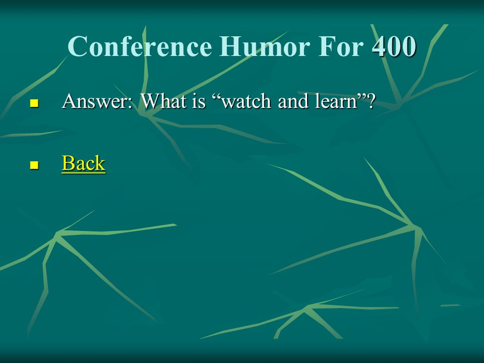 400 Conference Humor For 400 Elder L Whitney Clayton gave great advice on marriage.