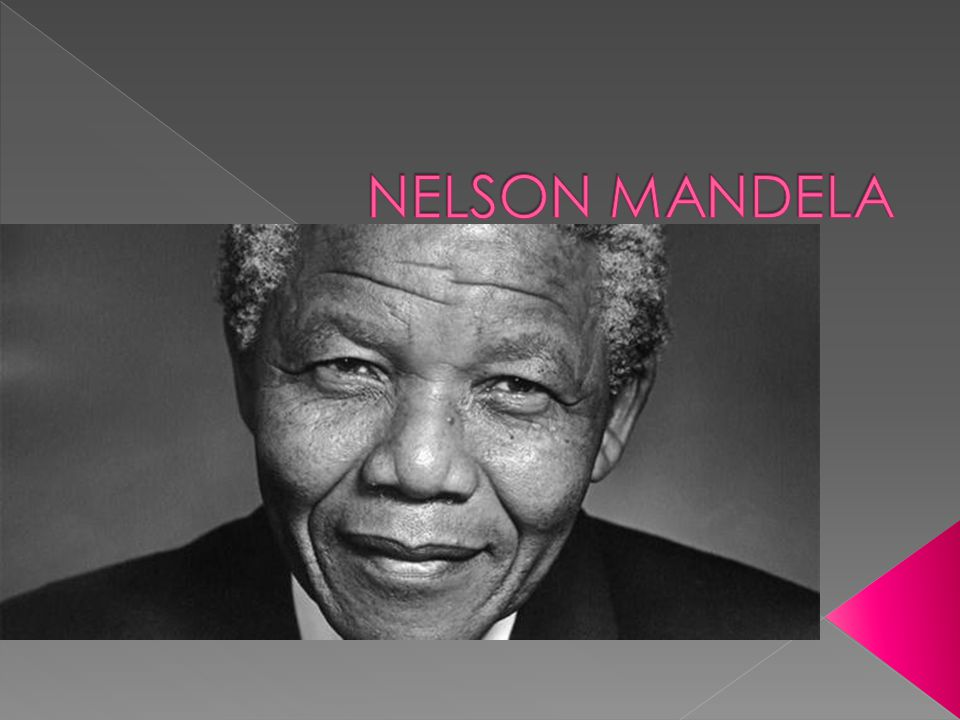  Nelson Mandela died on 5th December 2013. He was 95 years old.