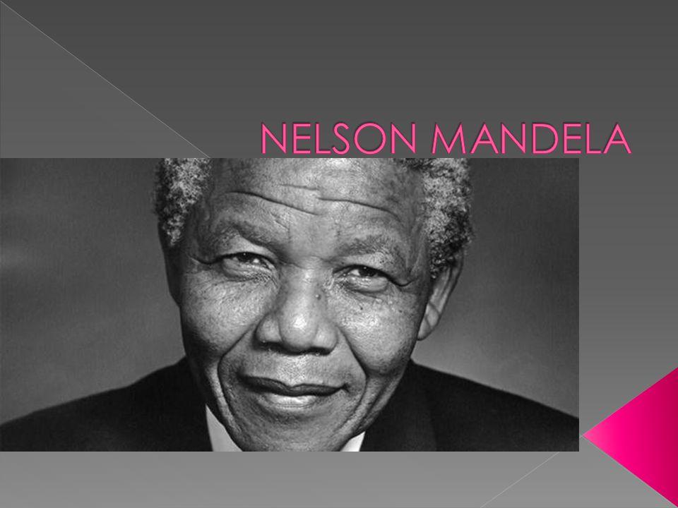  Rolihlahla Mandela was born on 18 July 1918.