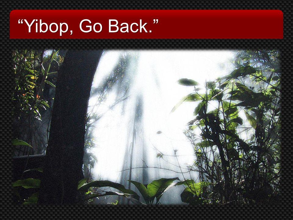 Yibop, Go Back.