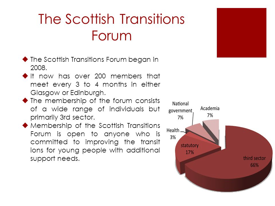 Interested in membership? Go to www.scottishtransitions.org.uk And click Join us