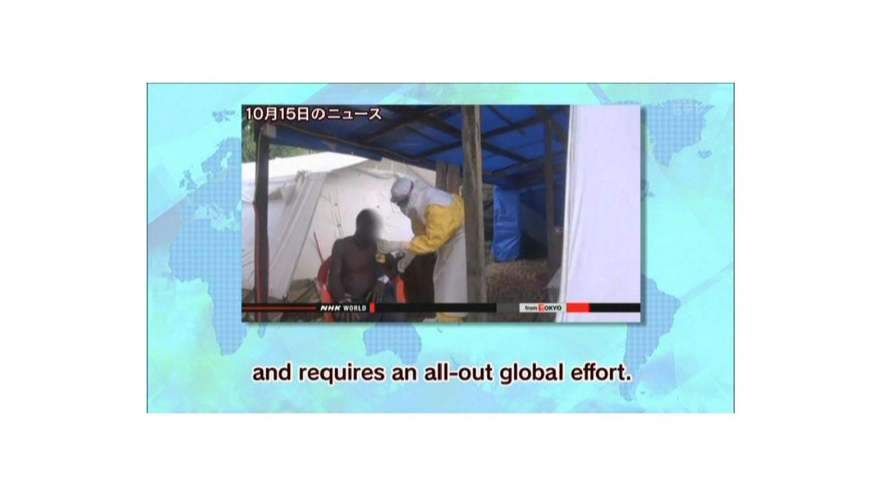 Modified The head of the UN s Mission for Ebola Emergency Response warns the outbreak of Ebola.