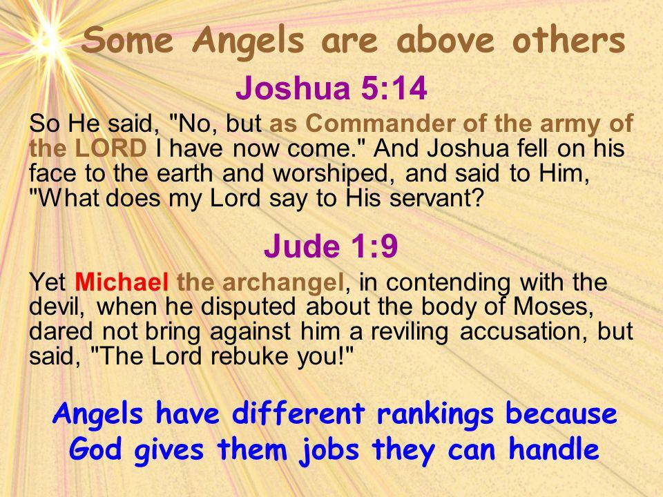 Joshua 5:14 So He said,