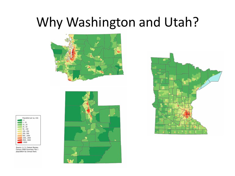 Why Washington and Utah