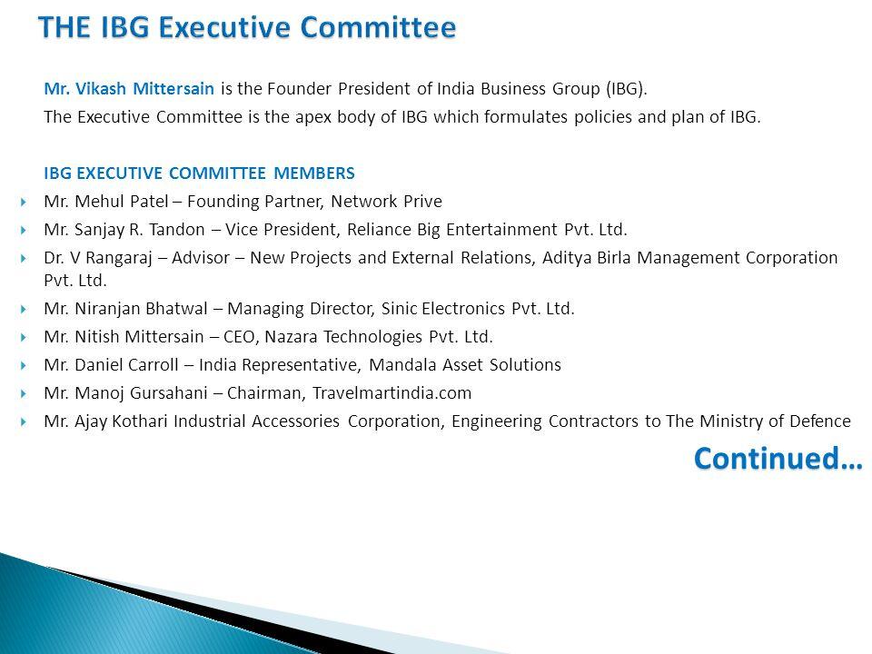  Mr.Dilip Mehta – Managing Director, Pegasus Shipping Agencies Pvt.