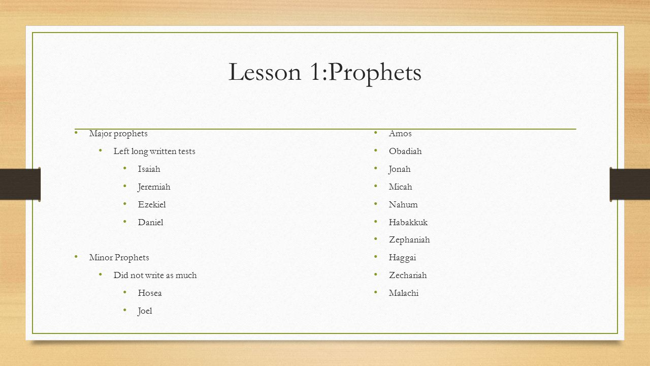 Lesson 4: John the Baptist Read paragraphs 12-17