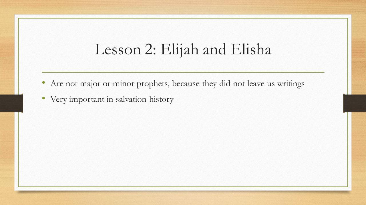 Lesson 4: John the Baptist