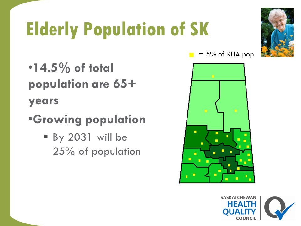 Health realities in rural and remote areas Saskatchewan residents in rural and remote regions are more likely to encounter barriers to accessing care, including information and advice, due to their location.