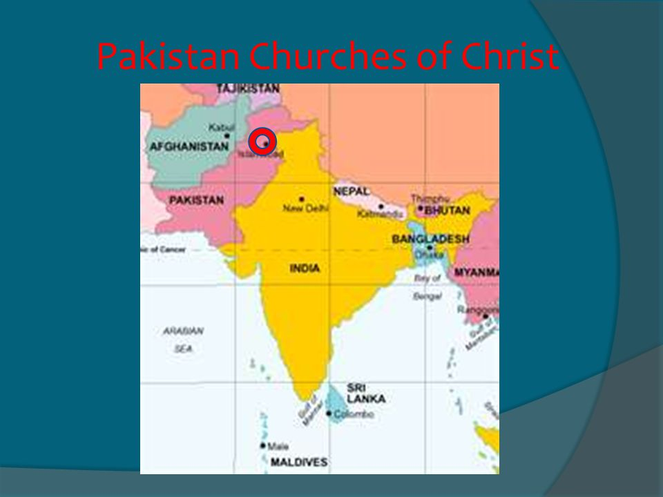 Pakistan Churches of Christ