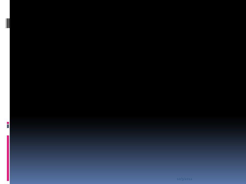 10/3/2012 ENCOUNTER