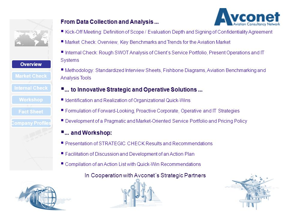 Market Check Internal Check Overview Workshop Fact Sheet Company Profiles Market Check Compiles Select Information on...