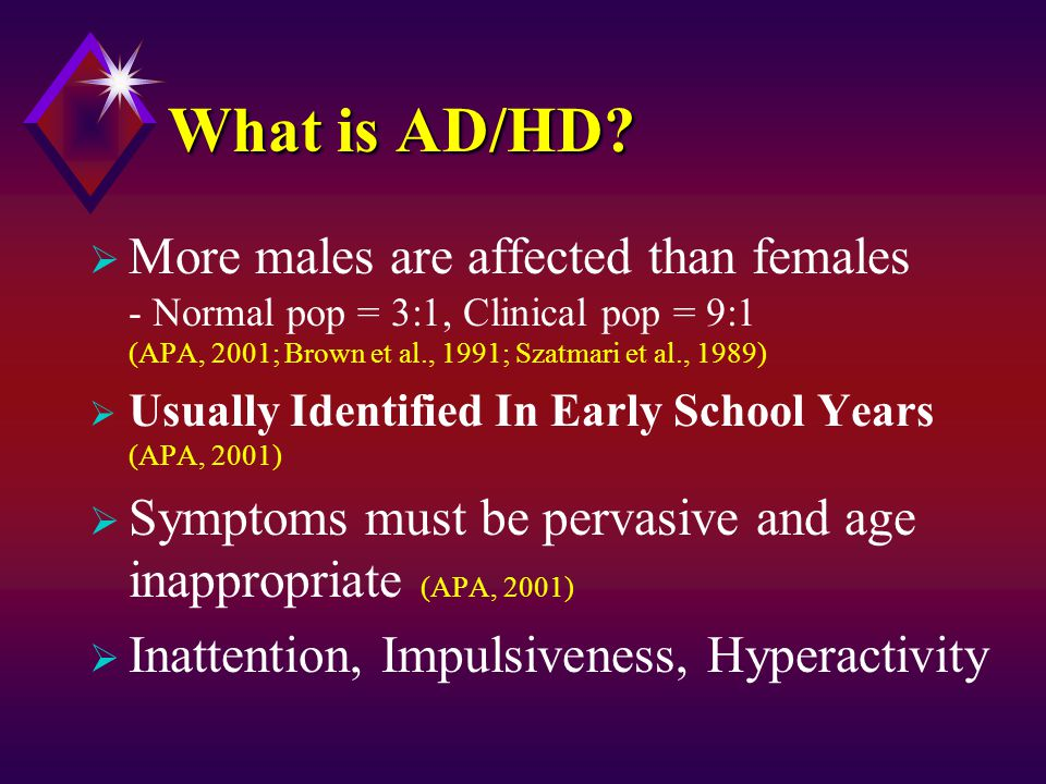 Show Me The Money, Cont'd  The challenge is even greater since leisure service providers often do not have the knowledge, training, or experience to work effectively with youth with ADHD (Ostiguy & Litner, 1999, p.