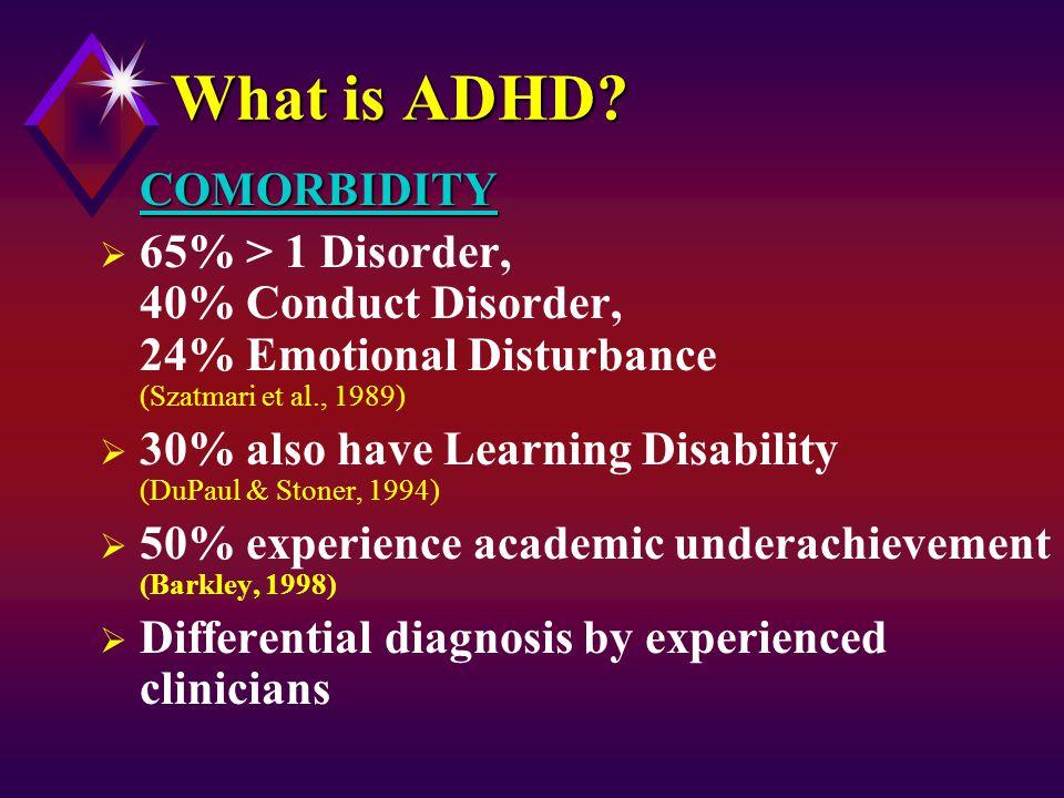 Physical activity experiences of boys with ADHD (Harvey et al., 2009)
