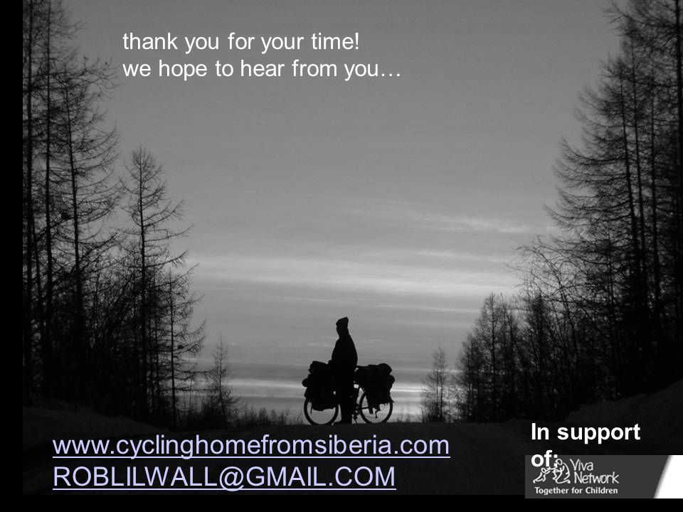 ROBLILWALL@GMAIL.COM thank you for your time! we hope to hear from you… In support of: