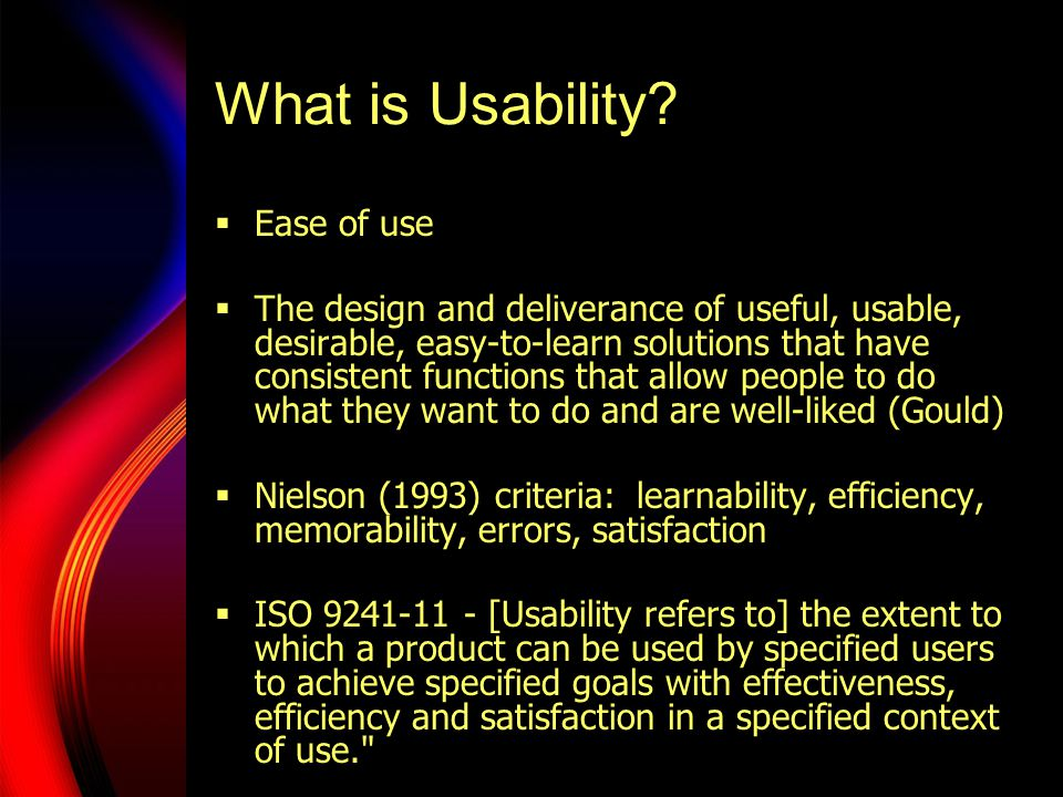 Speech Usability must…  Account for broad perspectives on communication (communication, social psychology, cognitive psychology, services marketing, speech science, human factors, linguistics, esp.