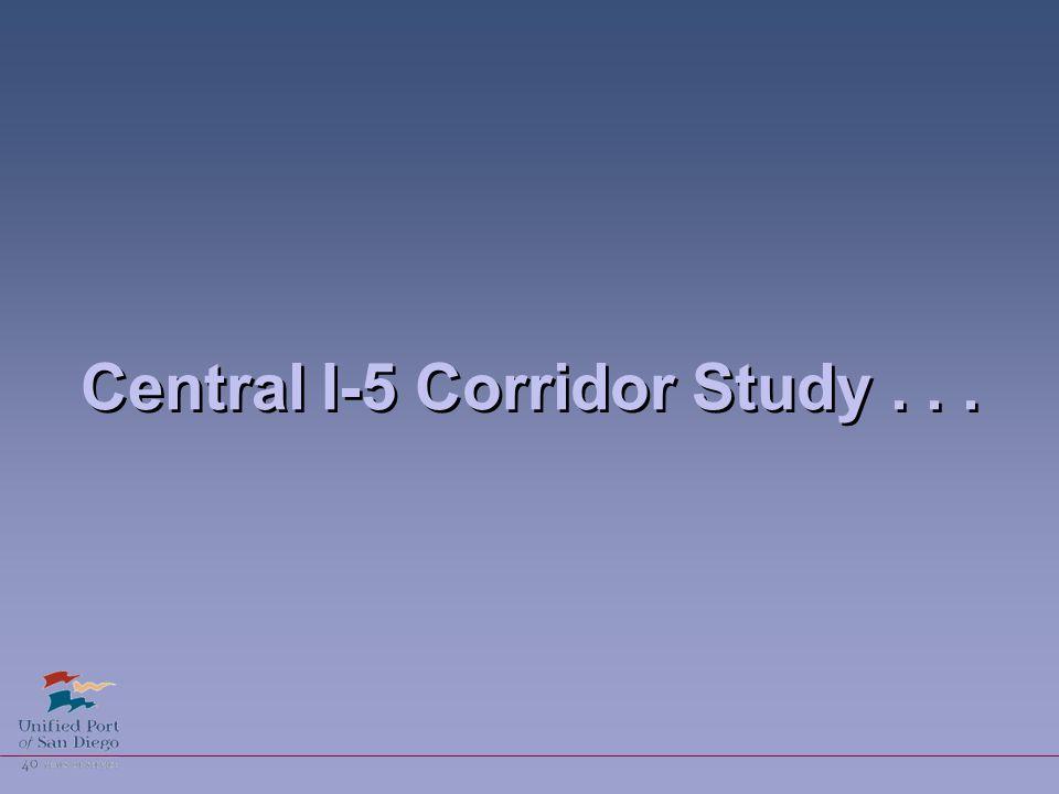 Central I-5 Corridor Study...
