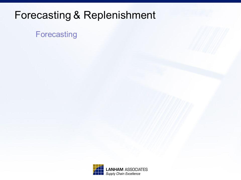 Forecasting & Replenishment Forecasting